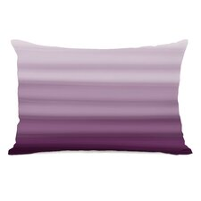 Ombre Watercolors Lumbar Pillow