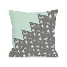 Maxine Asymmetry Chevron Throw Pillow
