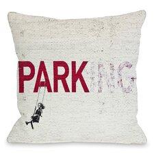 Parking Throw Pillow