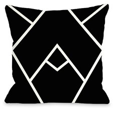 Mountain Peak Indoor/Outdoor Throw Pillow