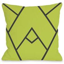 Mountain Peak Throw Pillow