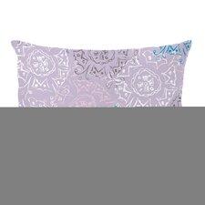 Frozen Burst Lumbar Pillow