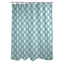 Hisa 1 Geometric Shower Curtain