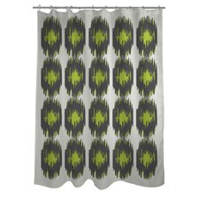 Payton Ikat Dots Shower Curtain