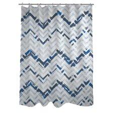 Reika Zig Zag Shower Curtain
