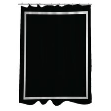 Samantha Simple Square Shower Curtain
