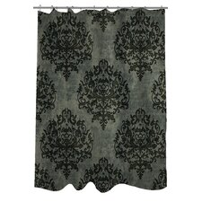 Haunted Filigree Shower Curtain
