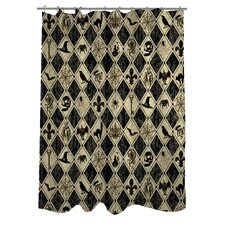 Spooky Diamonds Shower Curtain