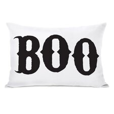 Boo Lumbar Pillow