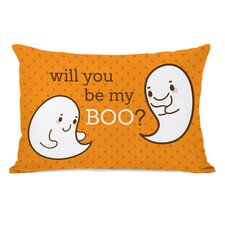 Be My Boo Lumbar Pillow