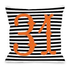 31st of October Throw Pillow