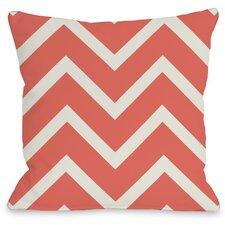 Sophia Chevron Throw Pillow