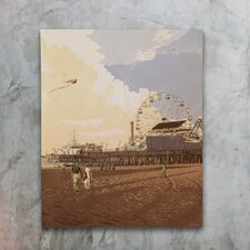 Boardwalk by Matthew Woodson Graphic Art on Wrapped Canvas