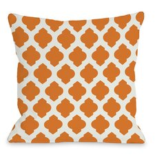 All Over Moroccan Throw Pillow