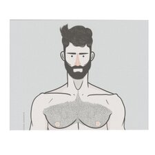 """Shirtless"" by Michael Sanderson Graphic Art on Canvas"