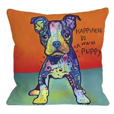 Doggy Décor On My Own Throw Pillow