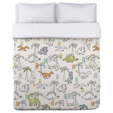 Baby Dinos Fleece Duvet Cover