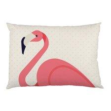Flamingo Hearts Pillow Case