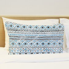 Faded Tribal Print Pillow Case