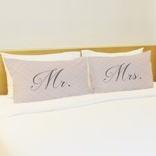 Better Together 2 Piece Happily Ever after Pillow Case Set