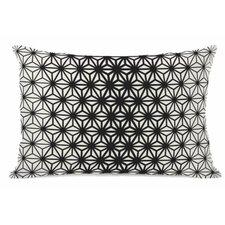 Geo Stars Fleece Lumbar Pillow
