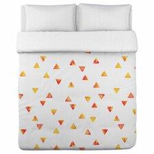 Timeless Triangles Lightweight Duvet Cover