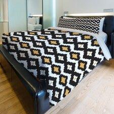 Seamless Ikat Fleece Duvet Cover