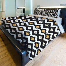 Seamless Ikat Lightweight Duvet Cover