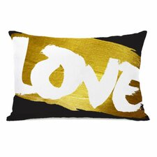 Love Paint Throw Pillow