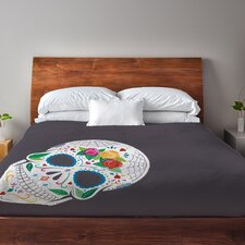 Calavera Fleece Duvet Cover
