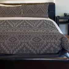 Tribal Zigzags Fleece Duvet Cover