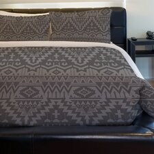 Tribal Zigzags Lightweight Duvet Cover