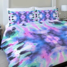 Abstract Ink Colors Lightweight Duvet Cover