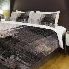 Tiled Monochrome Fleece Duvet Cover