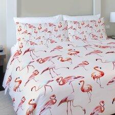 Flamingo Party Lightweight Duvet Cover