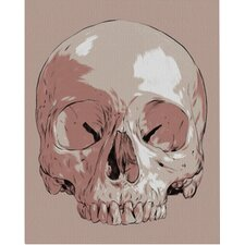 Skull Matthew by Woodson Graphic Art on Wrapped Canvas