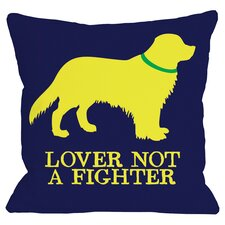 Doggy Décor Golden Retreiver Lover Throw Pillow
