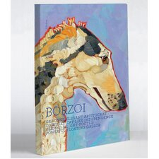 Doggy Decor Borzoi 1 Painting Print on Wrapped Canvas