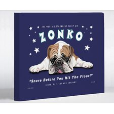 Doggy Decor Zonko Graphic Art on Wrapped Canvas
