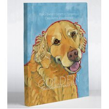 Doggy Decor Golden Retriever 1 Painting Print on Wrapped Canvas