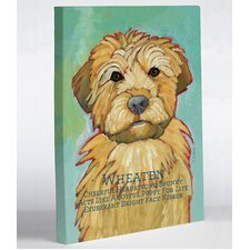 Doggy Decor Wheaten 1 Painting Print on Wrapped Canvas