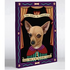Doggy Decor Chihuahua Saint Graphic Art on Wrapped Canvas