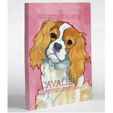 Doggy Decor Cavalier 1 Painting Print on Wrapped Canvas