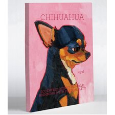 Doggy Decor Chihuahua 2 Painting Print on Wrapped Canvas