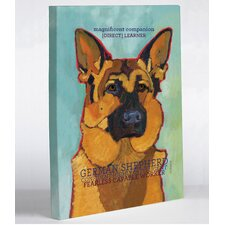 Doggy Decor German Shepherd 1 Painting Print on Wrapped Canvas