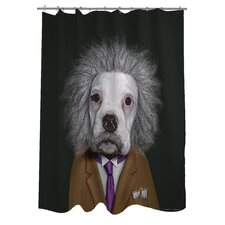 Pets Rock Brain Shower Curtain