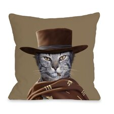 Pets Rock Western Throw Pillow
