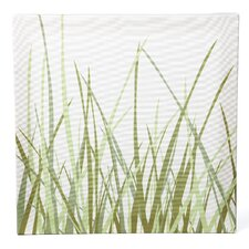 Nourish Summer Grass Stretched Graphic Art on Wrapped Canvas