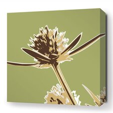 Botanicals Propeller Stretched Graphic Art on Wrapped Canvas in Green