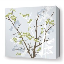 Rhythm Ailanthus Stretched Graphic Art on Wrapped Canvas